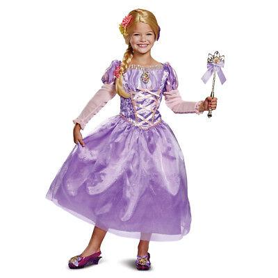 Girls Tangled Rapunzel Deluxe Gown - Deluxe Rapunzel Kostüme
