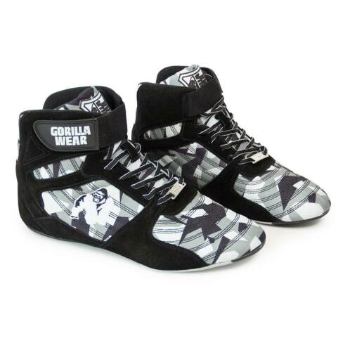 Gorilla Wear Perry High Tops Pro - Black/Gray Camo - Maat 36
