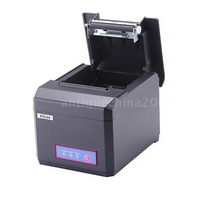Hoin 80mm 58mm Pos Dot Receipt Paper Barcode Thermal Printer Usblan Port New