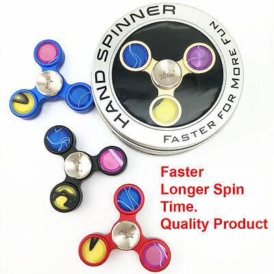 Fidget Spinner Triangle Full Metal Hand Spinner Focus EDC Toys Best High