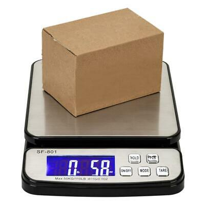 110 Lb X0.1oz Digital Postal Shipping Scale Weight Postage Kitchen Counting 50kg