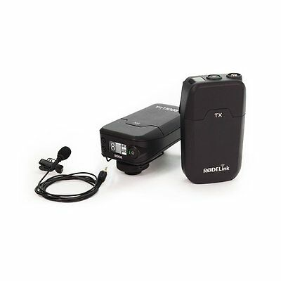 (Rode RodeLINK Filmmaker Kit Lavalier Mic DSLR Camera-Mounted Receiver Wireless)