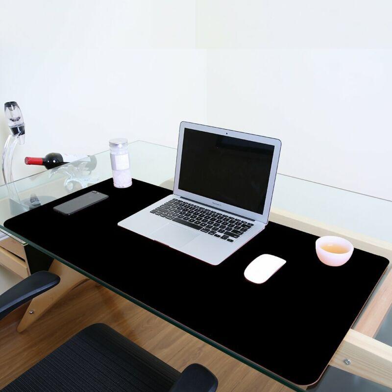 Large Desk Writing Mat Office Desk Pad Protecter Mat Blotter Waterproof Non-Slip