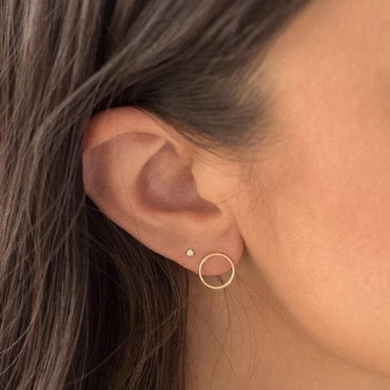 Professional Steel Ear Nose Navel Body Piercing Gun 1pcs Studs Tools Kit Sets US Health & Beauty