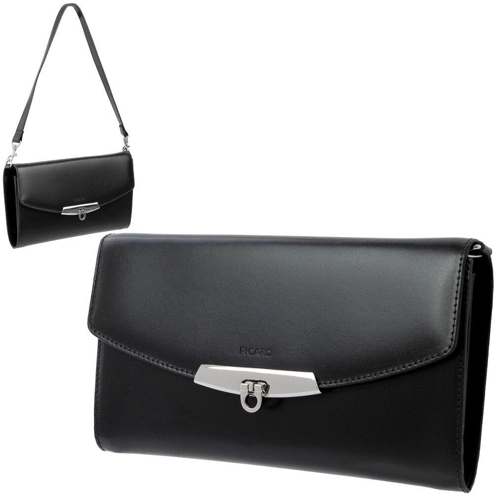 PICARD Damen Kleine Clutch Hand Tasche Leder Abendtasche Lady Bag Dolce Vita NEU