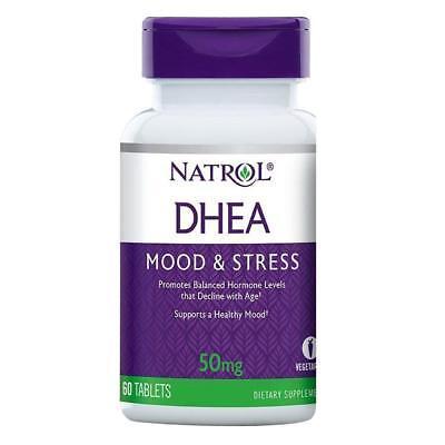 Natrol DHEA 50 mg 60 Tabletas