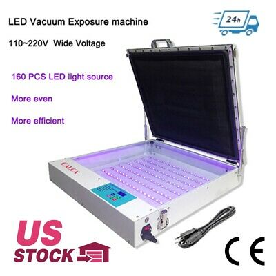 Calca 20 X 24 Tabletop Precise 80w Vacuum Led Uv Exposure Unit Us Stock