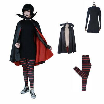 Hotel Transylvania Mavis Dracula 3 Pcs Cosplay Costume Cloak Pantyhose Hat - Hotel Transylvania Mavis Costume