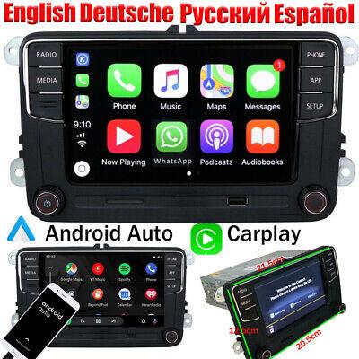 Deutsch Autoradio RCD360 CarPlay Android Auto BT Für VW Golf Passat Caddy Tiguan