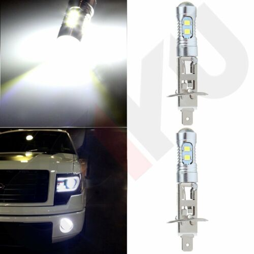 Led - 2PCS COB 6000K H1 40W CREE High Power LED Headlight High Low Beam Light SMD Bulb