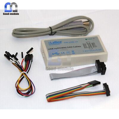 Lattice Fpga Cpld Usb Downloader Jtag Isp Programmer Ispdownload Cable Hw-usbn-2