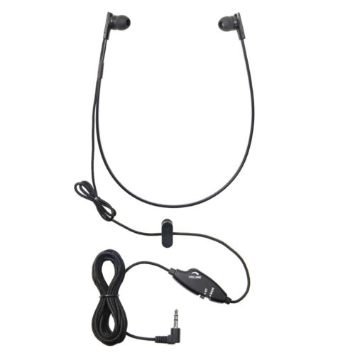 WordSleuth Under-chin In-Ear 3.5 mm Transcription Headset – Noise Reduction
