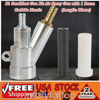 B1 Air Sandblaster Spray Gun Kit with Boron Carbid