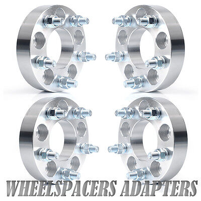 "(4) 1.25"" Wheel Spacers Adapters 5X4.5 to 5X4.75