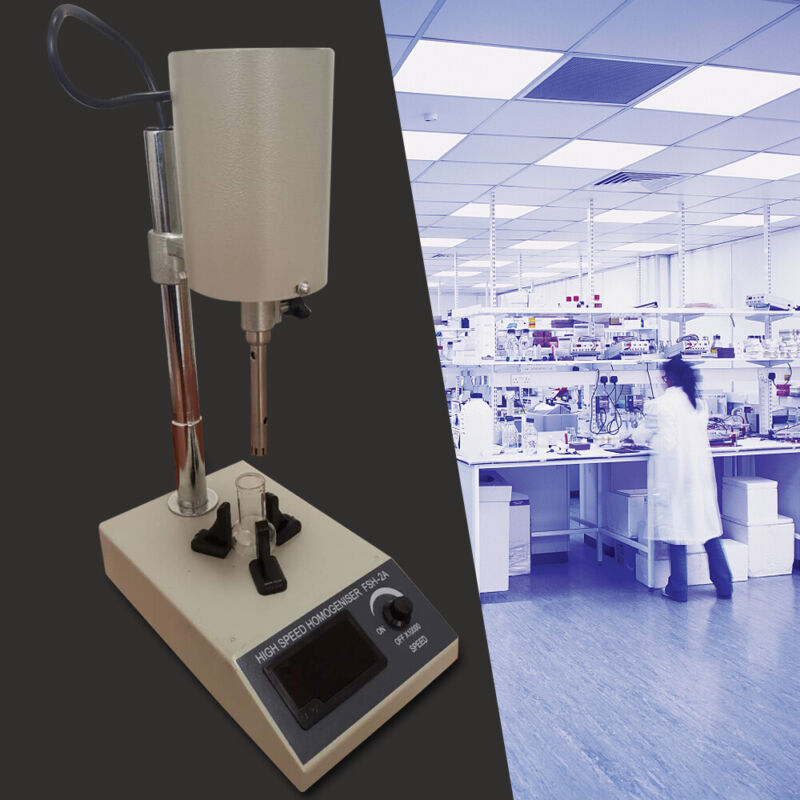 110V Homogenizer Dispersion High Speed Lab Mixture Equipment Emulsifier