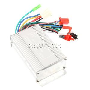 8-in-1 Electric Bicycle Scooter Brushless Motor Speed Controller 36V/48V 350W