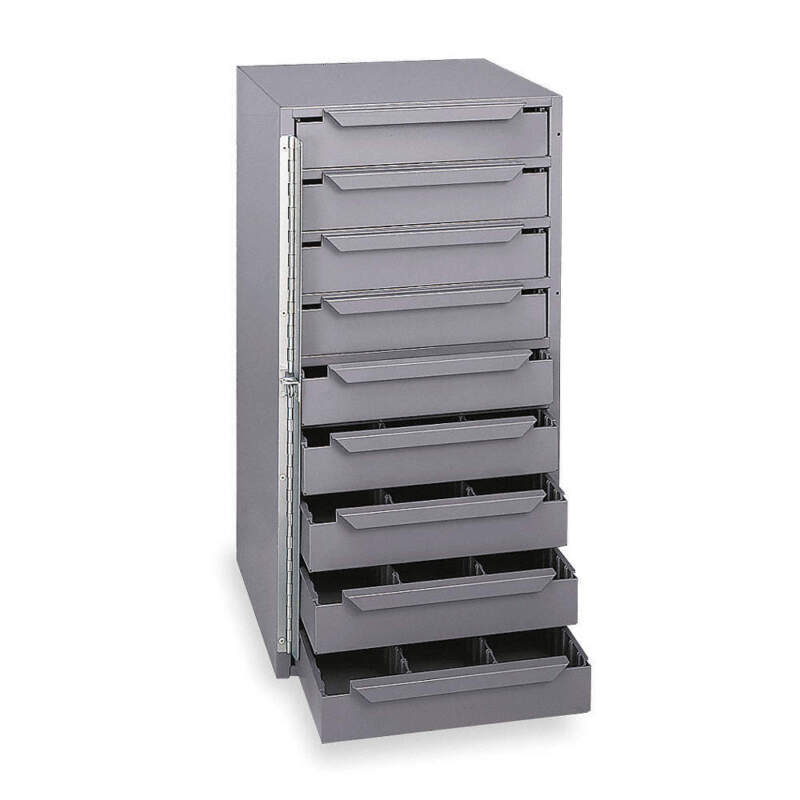 Storage Cabinet,12-5/8 in W,9 drawers 611-95