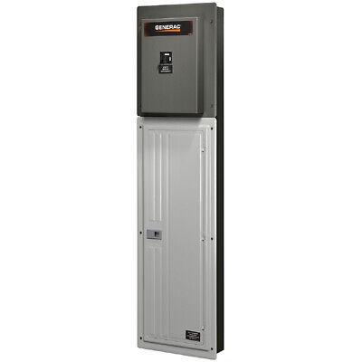 Generac 200-amp Genreadytrade Automatic Transfer Switch Load Center W Po...