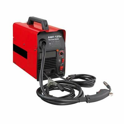 Mig 125 Amp Flux Wire Feed Corded Welder Welding Machine Mild Steel Mig 120v