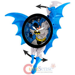 DC Comics Batman Wall Clock  3D Motion Swing Figure Watch
