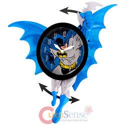 DC Comics Batman Wall Clock  3D Motion Swing Figure Watch