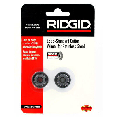 Ridgid 29973 E635 Cutter Wheel With Bearing For Stainless Steel Tube