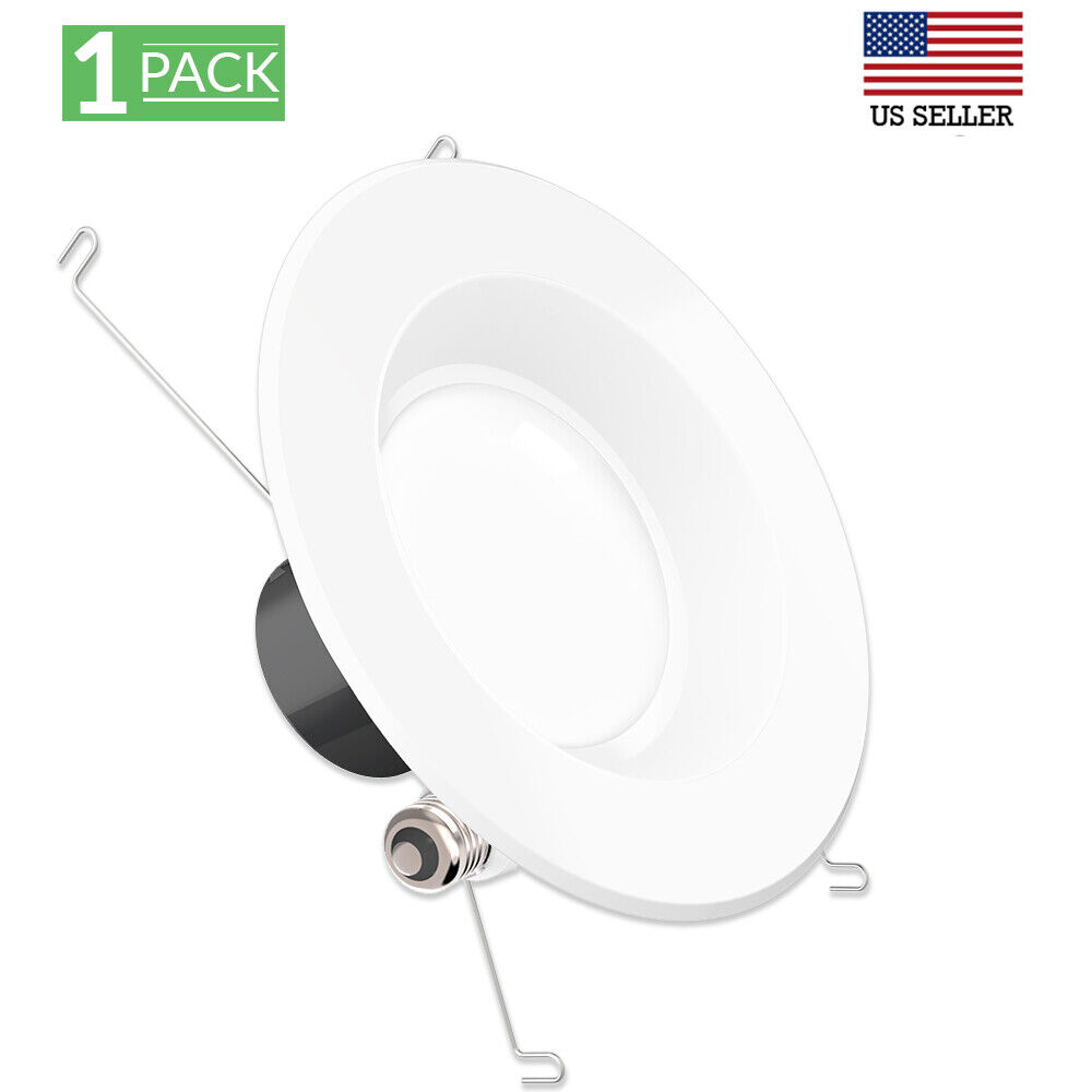 SUNCO 8 PACK 6-INCH RETROFIT RECESSED 13W 965 LUMEN 2700K SOFT DIMMABLE BF+D
