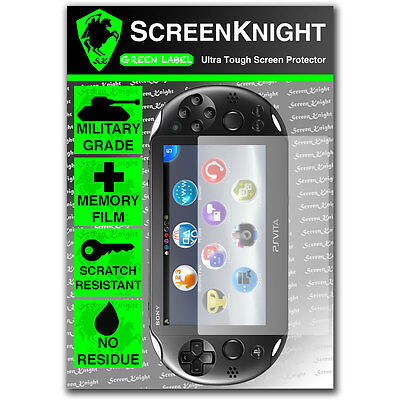 ScreenKnight Sony Playstation PS Vita Slim SCREEN PROTECTOR invisible shield