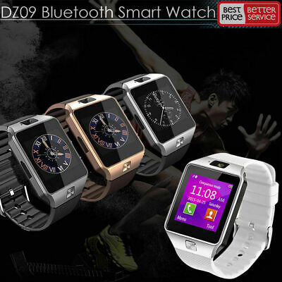 DZ09 Bluetooth Smart Watch Camera Phone GSM SIM For IOS iPhone Android Samsung