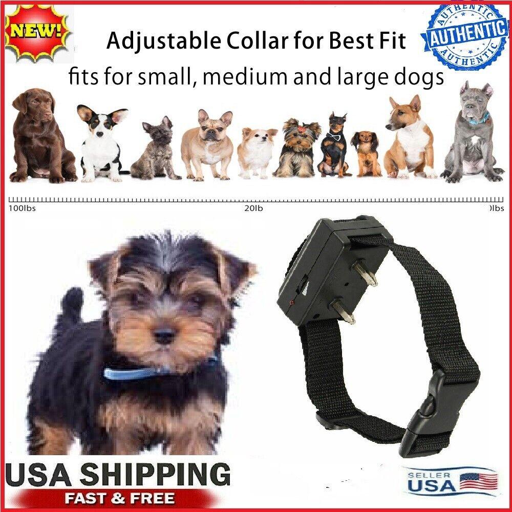 Automatic Anti Bark barking Shock Control Collar ...