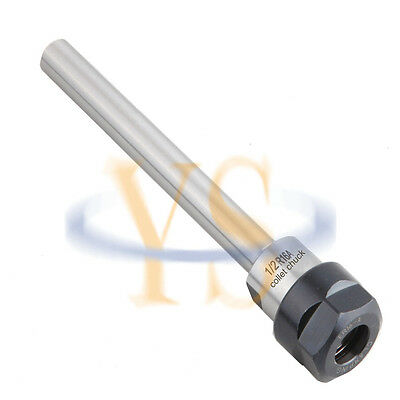 New C12 Er16a 150l Straight Shank Collet Chuck 0.5 Toolholder Cnc Milling Usa