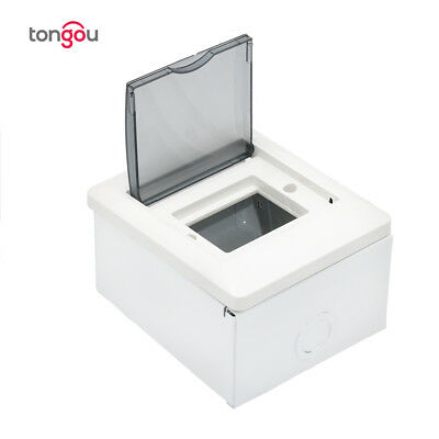 Tongou 2-4 Ways Metal Distribution Box For Circuit Breaker Switch Box
