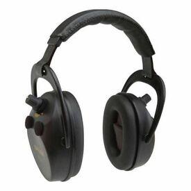 Allen Axion Electronic Lo-Profile Ear Defenders Shooting Muff Range Hunt #2230