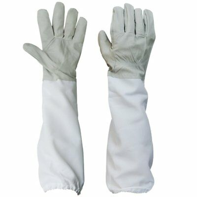 Beekeeping Protective Gloves With Vented Long Sleeves Guard New Large 1 Pair Us