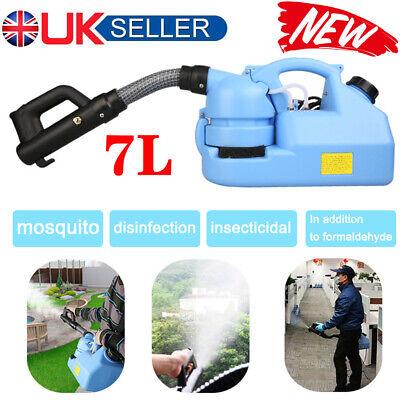 Electric Fogger Atomizer ULV Sprayer Fogging Machine Spray Disinfection 7L UK