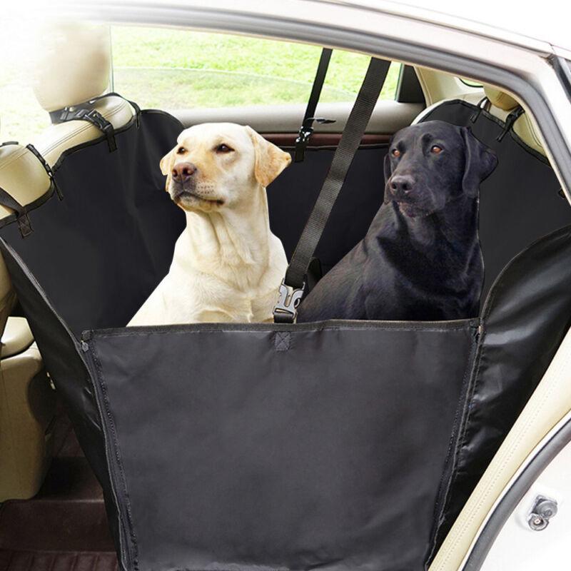 Pet Dog Hammock Car Truck Van Back Seat Cover Waterproof Nonslip Protector Mat