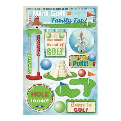 Fun Stickers (Scrapbooking Crafts Karen Foster Stickers Miniature Mini Golf Family Fun)