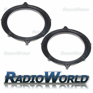 Audi A4 B5 Speaker Adaptor Rings Front Door 5.25