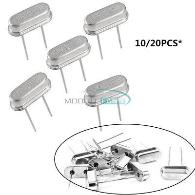 20pcs Top 16.000mhz 16 Mhz 16m Hz Dip Crystal Oscillator Hc-49s