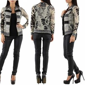 Evening party jacket double look jumper top sizes uk 6 8 10 12 ebay