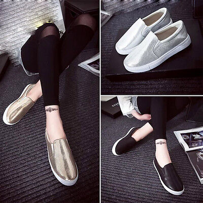 Spring Women Loafers Flats Thick Bottom Leisure Slipony Lazy Sport Party Shoes