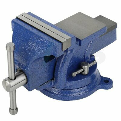 4 5 6 Bench Vise With 360 Swivel Base Clamp Drill Press Heavy Duty Vice