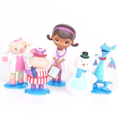 Doc Mcstuffins Check Up Time Dottie 5PCS Action Figure Cute Doll Cake Topper Toy](Doc Mcstuffins Cake Toppers)