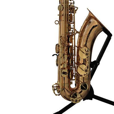 HUNKY BUNKY Tenor BB Saxophone Yellow Brass Body Rose Brass F key christmas - Bb Christmas Saxophone