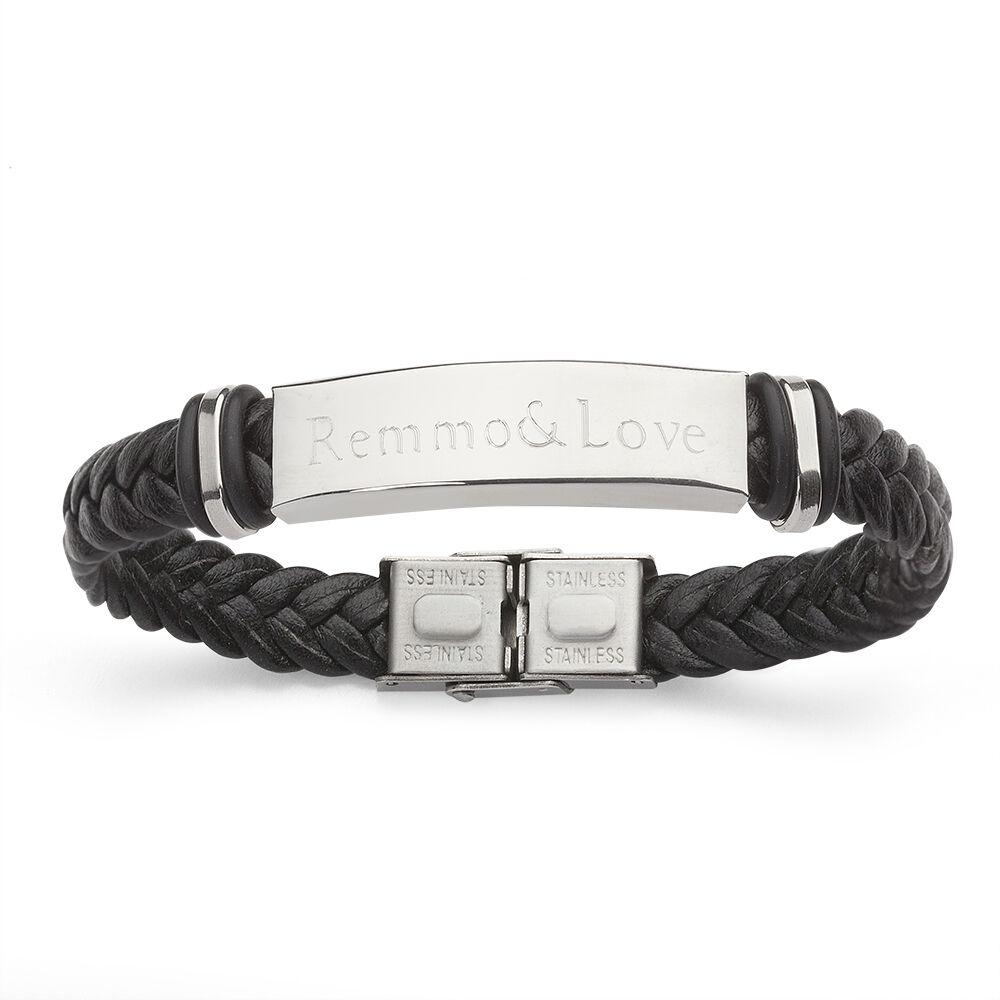 Leder Armband mit Gravur Unendlichkeit Infinity unendlich unendlichkeitszeichen