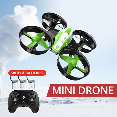 Holy Stone Mini RC Drone for kids 3 Batteries 3D flips RC quadcopter HS210 Gift