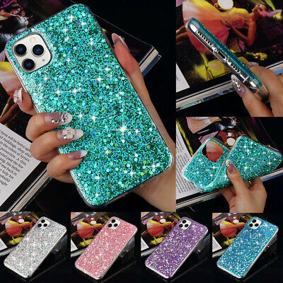 Bling Glitter Case For Apple iPhone 11 Pro Max XR X 7 8 6S Plus Gel Soft Cover