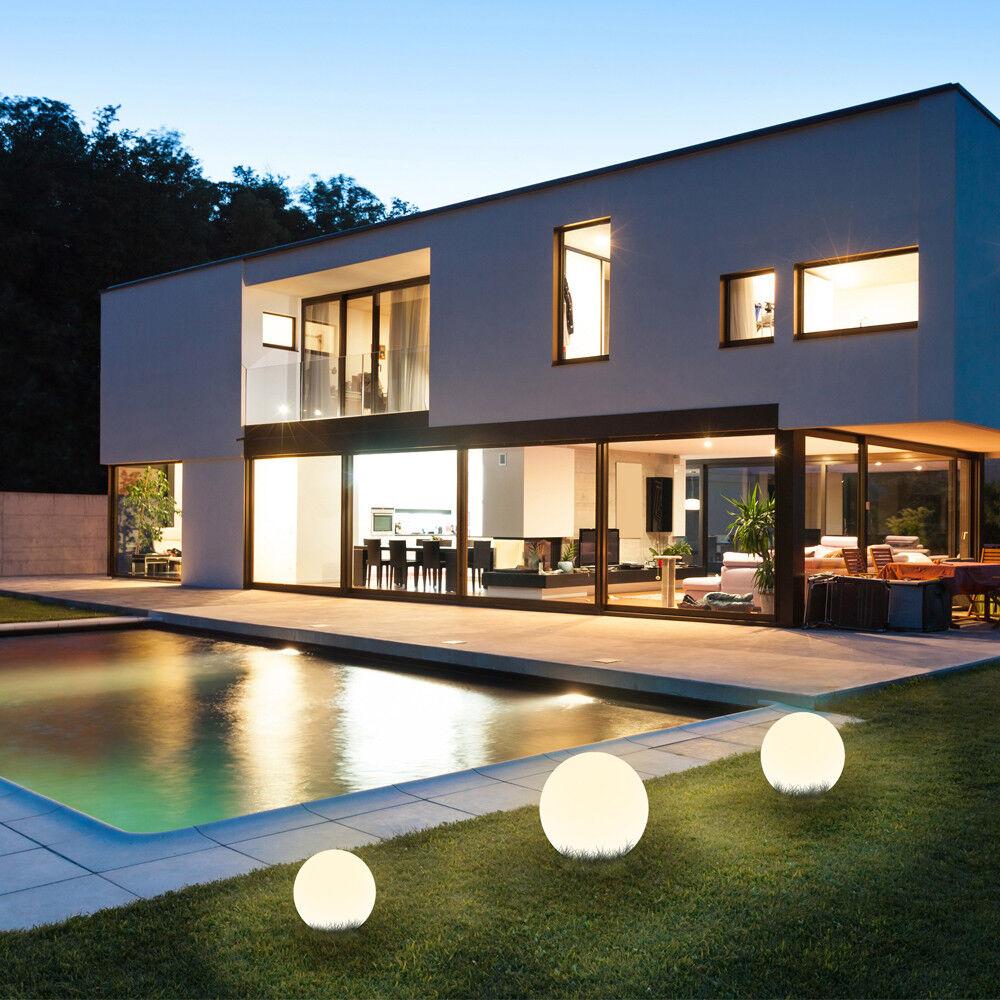 Kugelleuchte Kugellampe Gartenlampe Außenlampe Außenleuchte Leuchtkugel