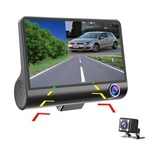 4'' 1080p hd 3 lens car dvr vi... Image 3