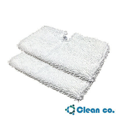 (Clean Co. Replacement Pads for Shark Steam Pocket Mop Pad S3501 S3601 S3901 x2)